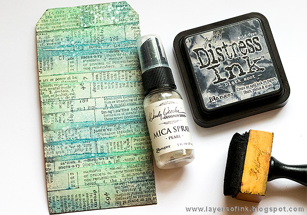 Layers of ink - Snowman Tag Tutorial by Anna-Karin
