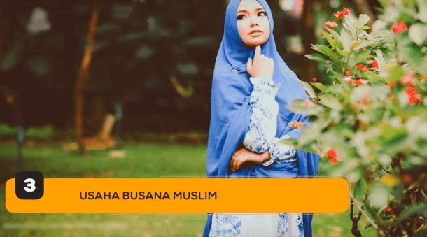 3. Usaha Busana Muslim