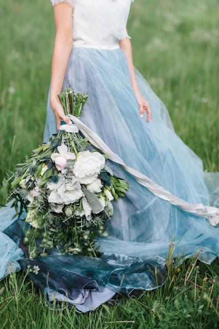 novia azul serenity