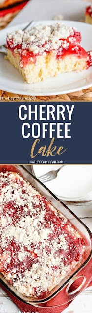 Cherry Coffe Cake