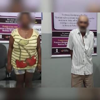 Mãe acusada de aliciar filhas para sexo com homens vai para o presídio; idoso suspeito dos abusos é preso