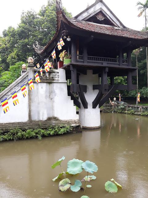ハノイの一桂寺(One Pillar Pagoda)