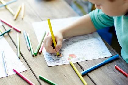 Riset : Anak yang Hobi Menggambar Cenderung Jenius