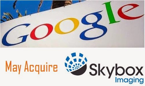 Google May Acquire Skybox Imaging
