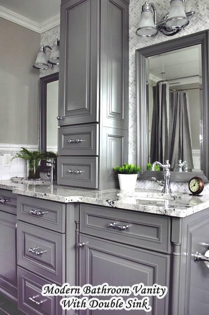 Bathroom Vanities Made in USA Double Sink