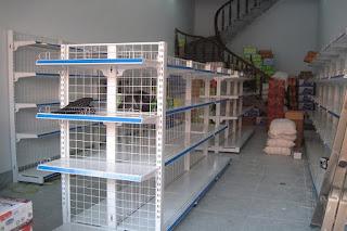 Set up và lắp đặt giá kệ siêu thị tại Cao Bằng