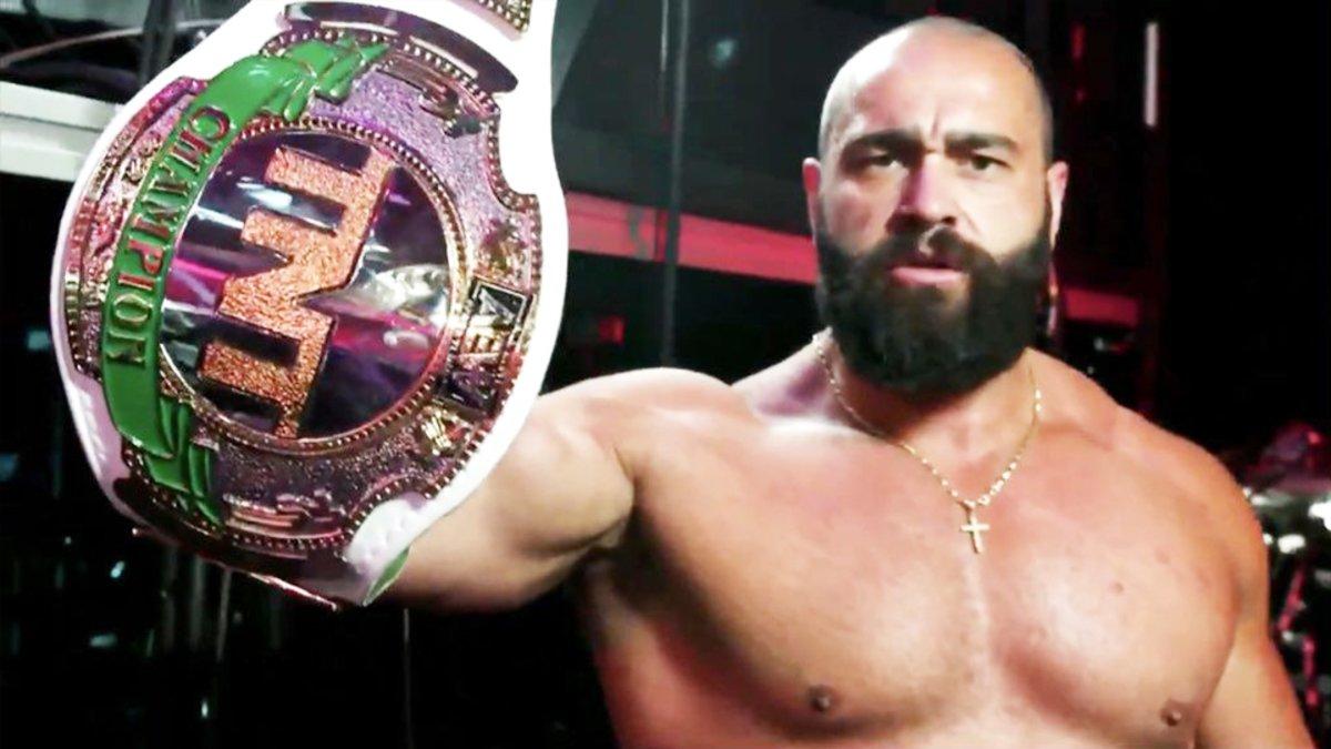 Miro mostra novo design do AEW TNT Championship