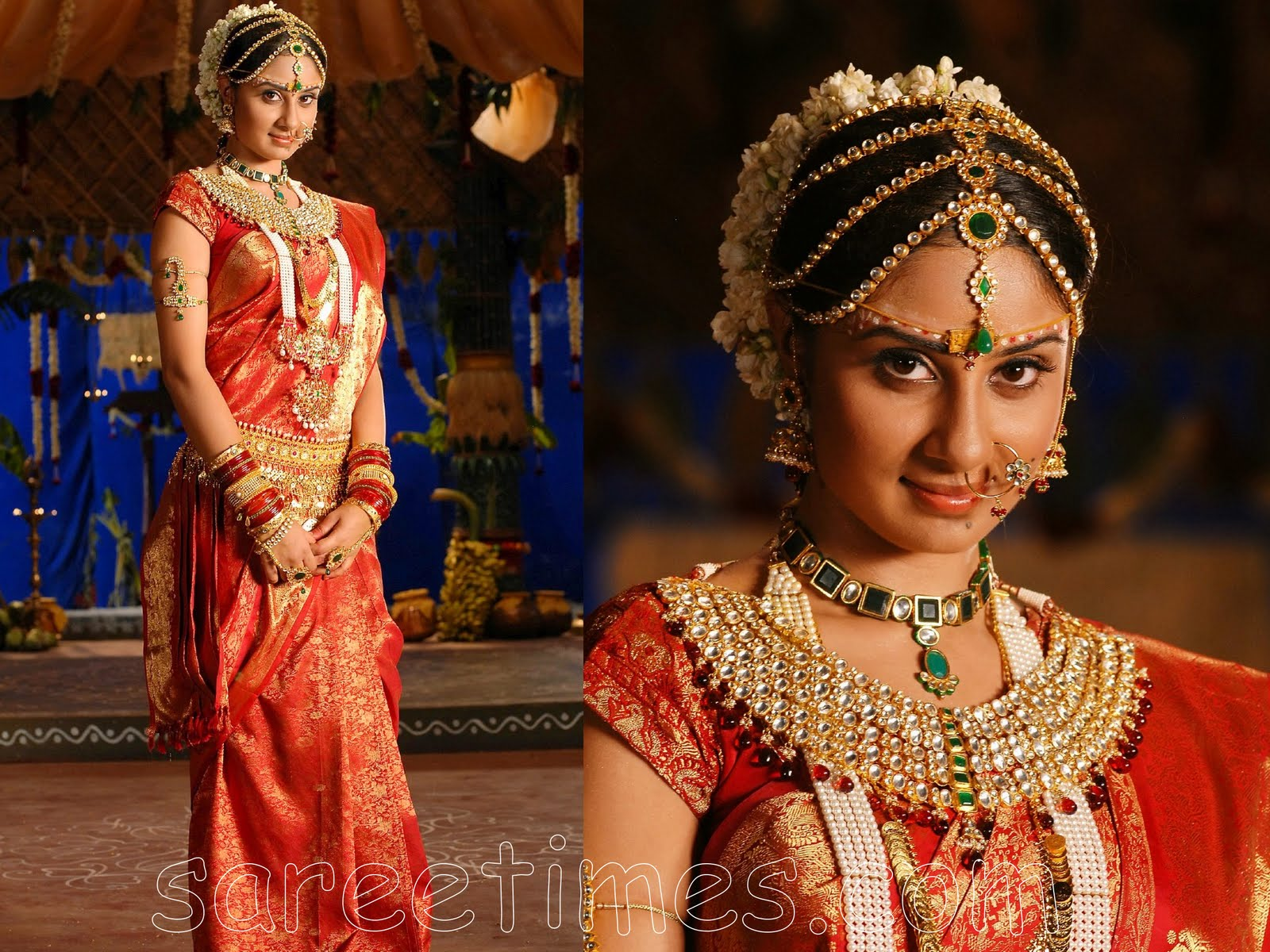 south indian bridal wear |Bridal Jewellery Pic