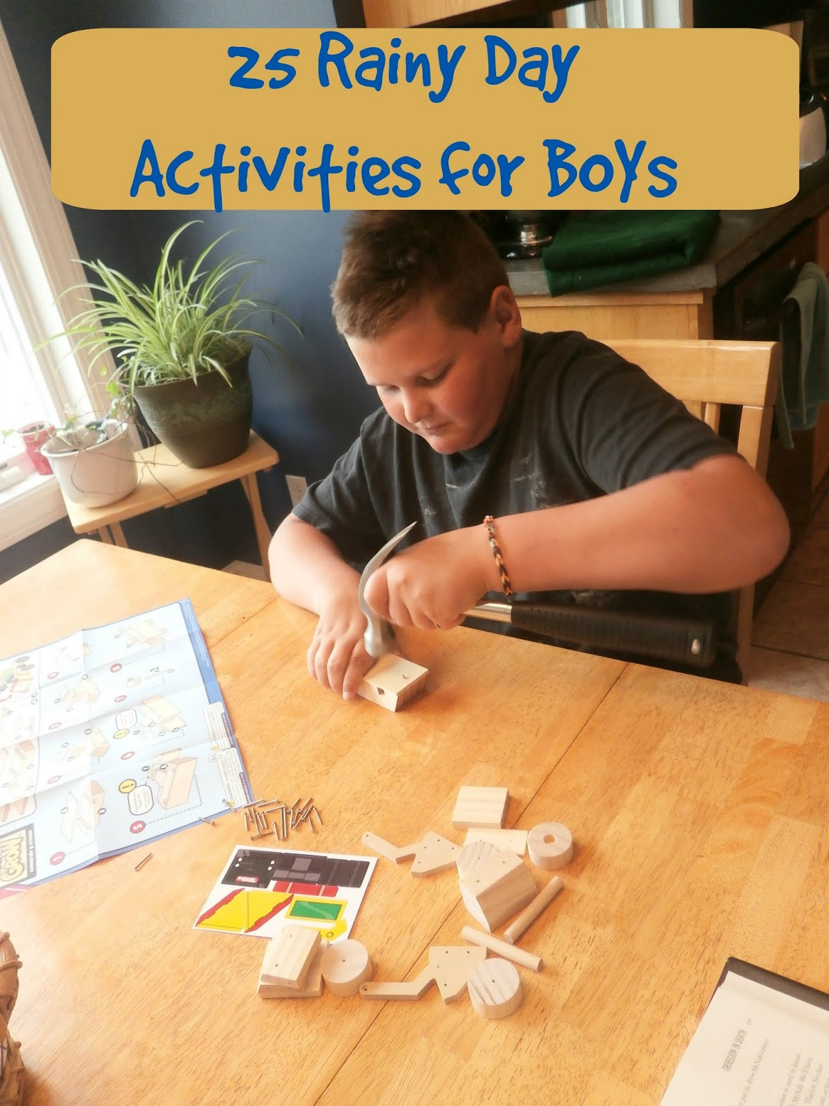 25 Rainy Day Fun Activities For Boys