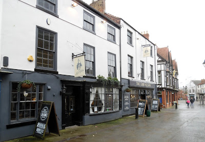The Lord Nelson Hotel in Brigg - winner of a civic award for refurbishment - March 2019