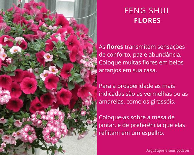 As Flores no Feng Shui
