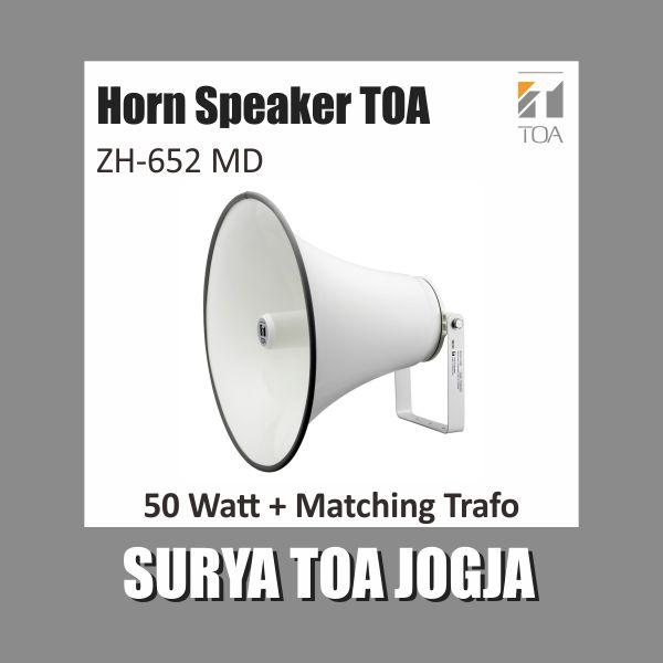 Horn Speaker Toa 50 Watt + Matching Trafo ZH-652 MD