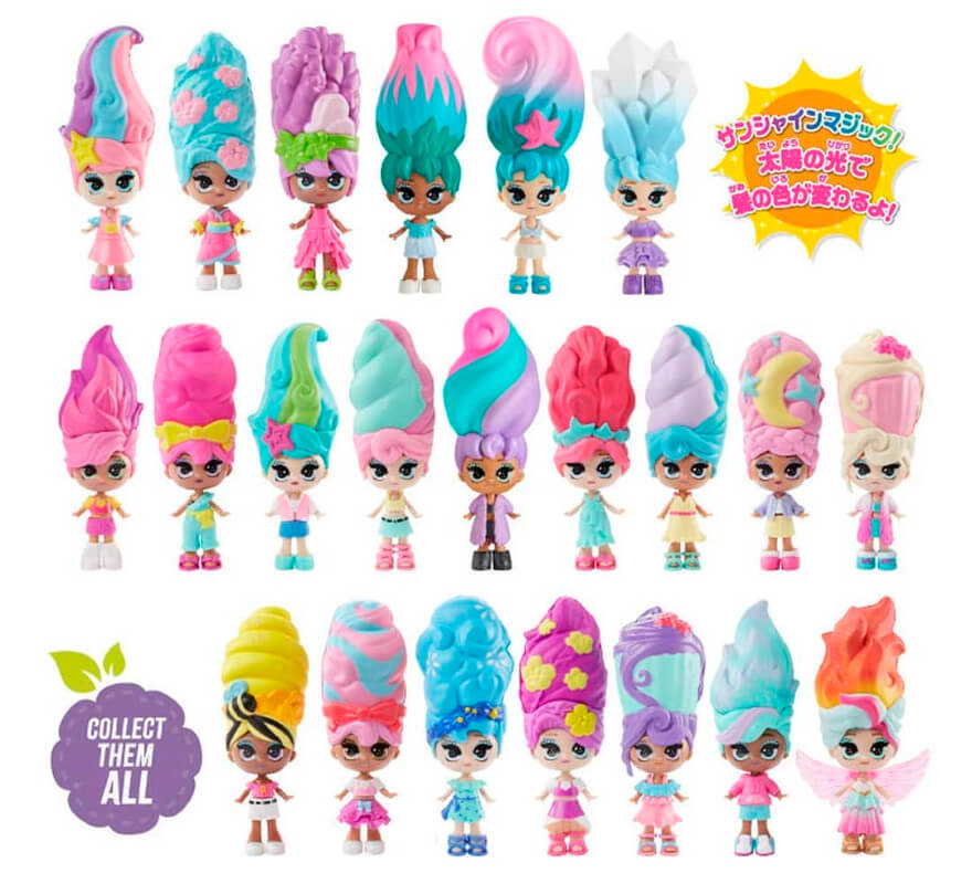 Вся коллекция игрушек Blume Series 2 всего 22 куклы Блум в горшке