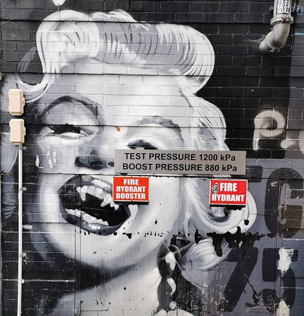 Potts Point Street Art | Marilyn Munroe