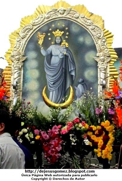 Foto de la Virgen de la Nube o Nuestra Señora de la Nube. Foto de la Virgen de la Nube tomada por Jesus Gómez