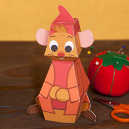 paper toy cinderela ratinhos brinquedos de papel