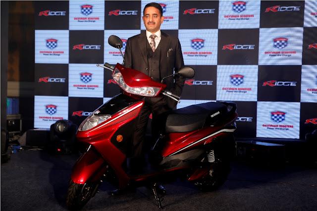 Okinawa electric scooter Ridge launch in India