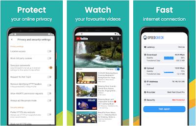Aplikasi private proxy browser
