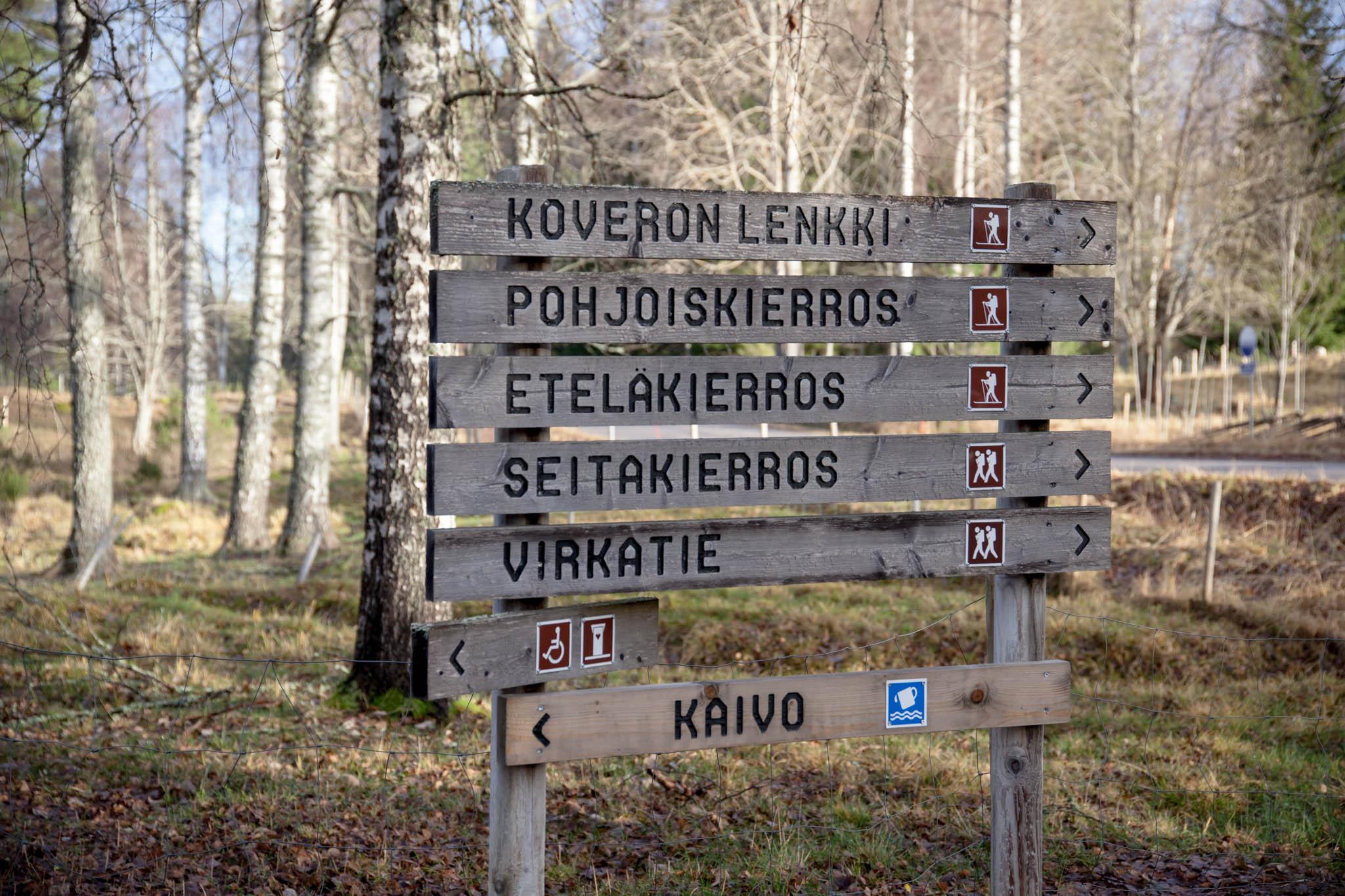 seitseminen haukilampi kansallispuisto