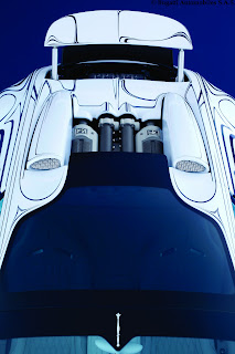 2012 Bugatti Veyron Grand Sport Or Blanc Rear Spoiler Wing Source Image