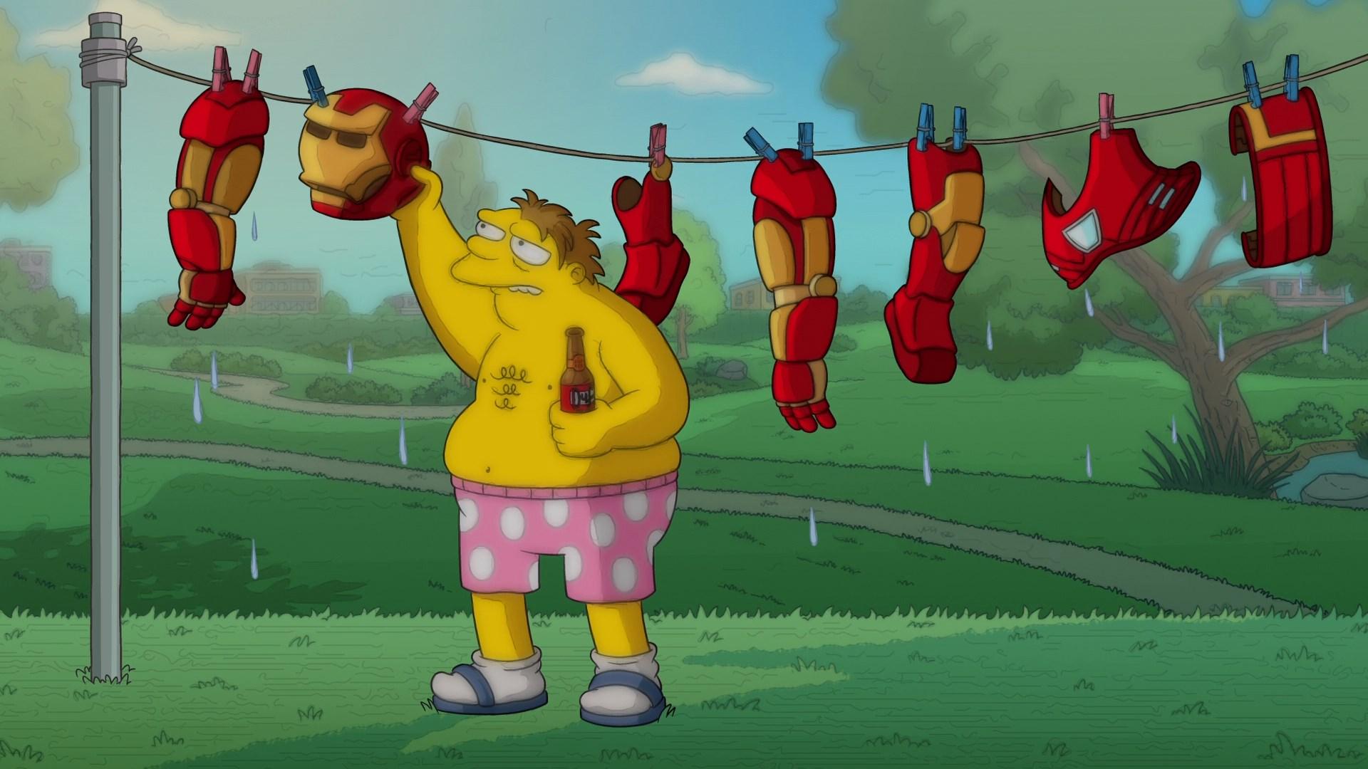Los Simpsons:El bueno El Bart y el Loki (2021) 1080p WEB-DL Latino