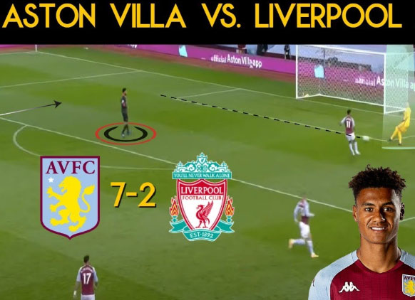 Aston Villa Smash Seven Past Hopeless Liverpool