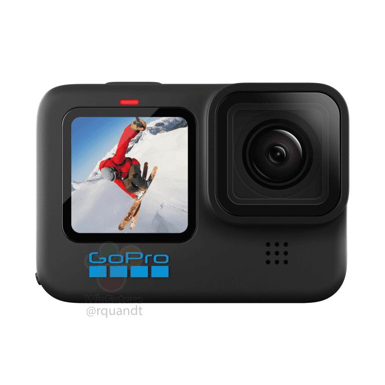 GoPro Hero 10, вид спереди