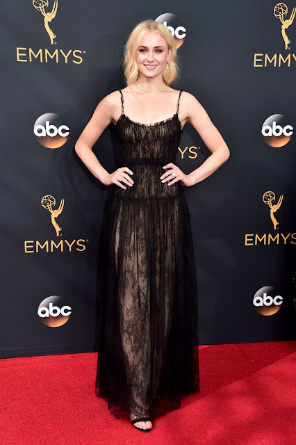 Sophie Turner in Forevermark Diamonds at the 68th Annual Emmy Awards