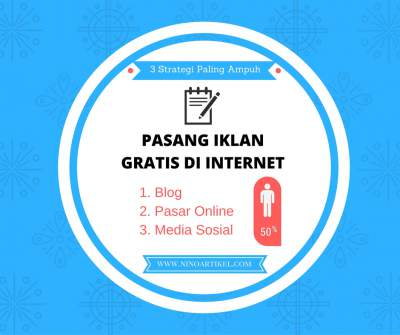 Pasang Iklan Gratis di Internet