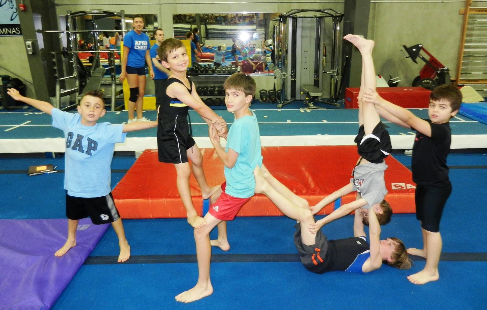 Oakville Gymnastics Club Acrobatic Gymnastics Team Parent