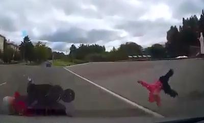 Tremendo Atropello a Bebe