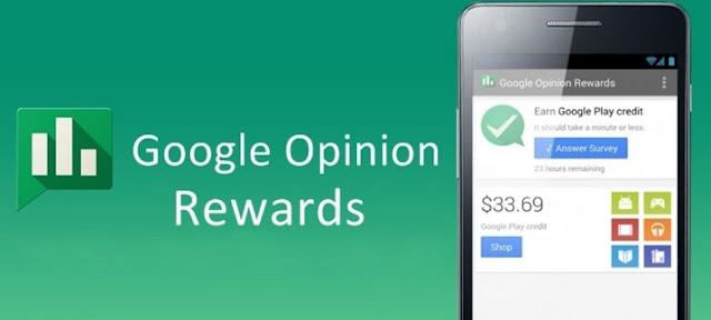 Gagnez de l'argent avec la rémunération de Google Opinion Rewards, Android