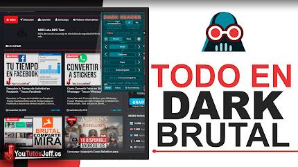 Activar Modo Dark en Todas las Paginas Web - Trucos Web