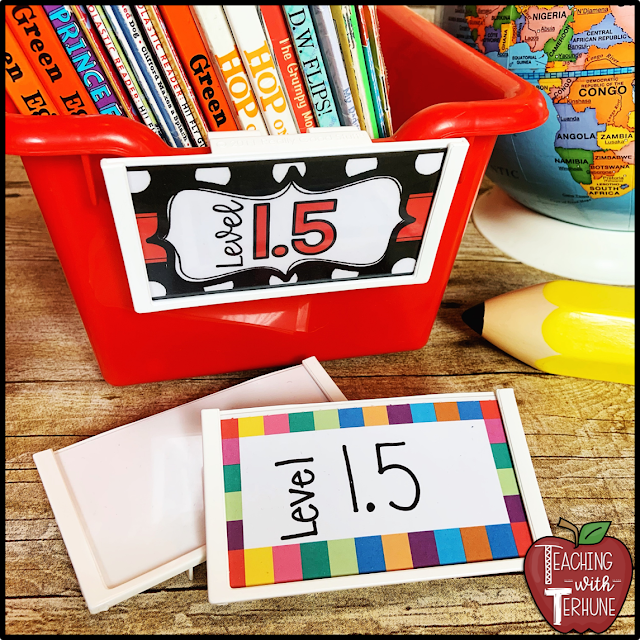 Really Good Stuff Labels for Classroom Bins