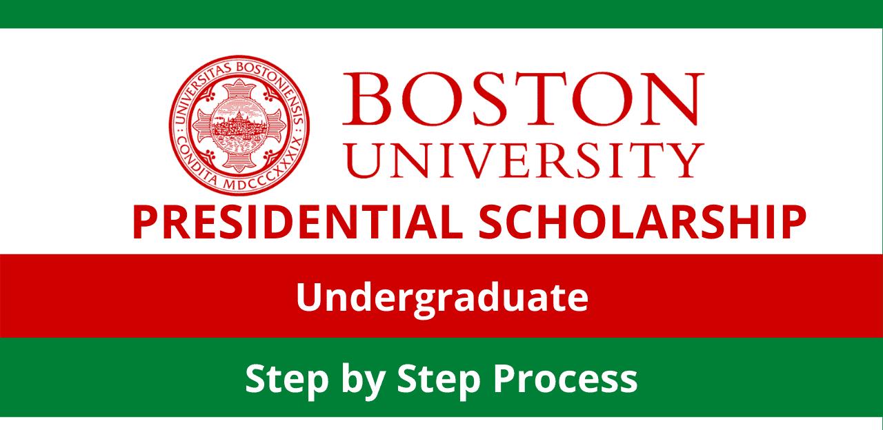 منحة جامعة بوسطن الرئاسية 2022 بالولايات المتحدة الأمريكية