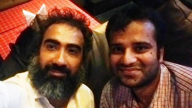 Film Critic Murtaza Ali Khan interviewing Ranvir Shorey for Wittyfeed