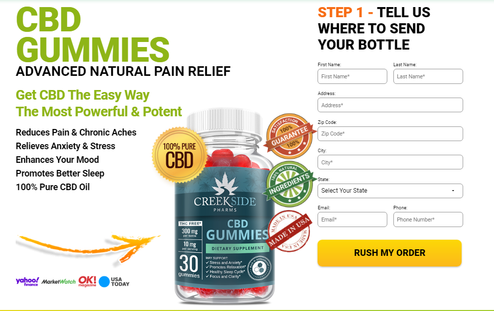 19 Surprising Effects Of CreekSide Pharms CBD Gummies | More Refreshing Or  Scam! - PromoSimple Giveaways Directory