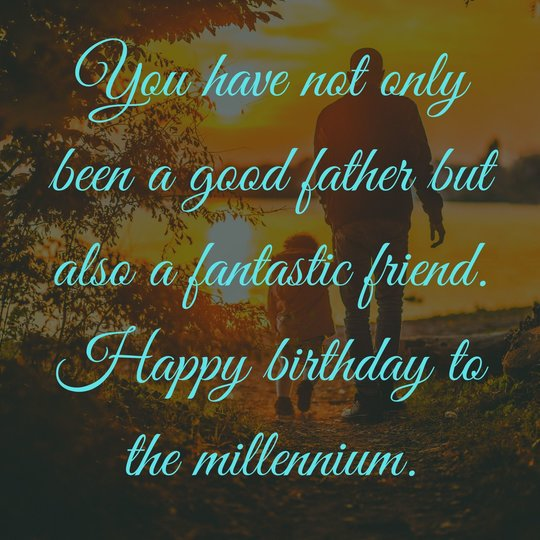 Ever Best Birthday Wishes for Dad