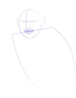 Langkah 4. Super Simpel Menggambar James Rodríguez