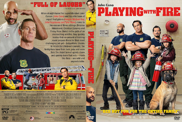 Playing with Fire DVD Cover