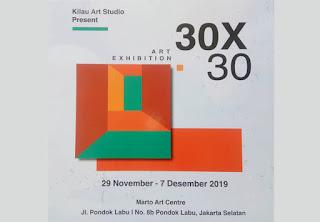 pameran 30x30 oleh loca institute