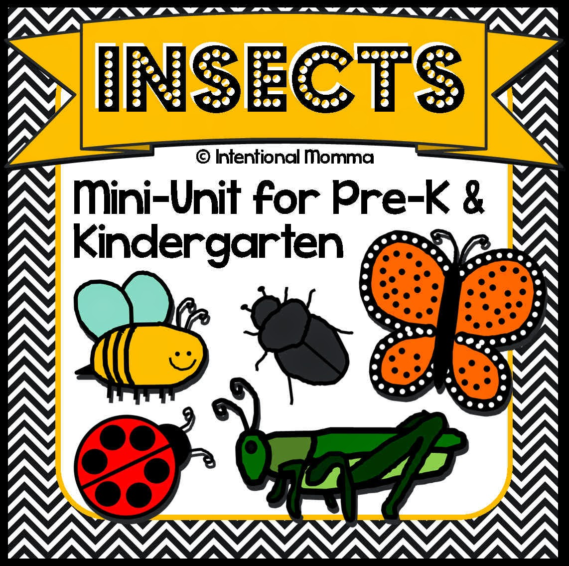 The Best Of Teacher Entrepreneurs Iii Insects And Bugs A Spring Mini Unit For Pre K And