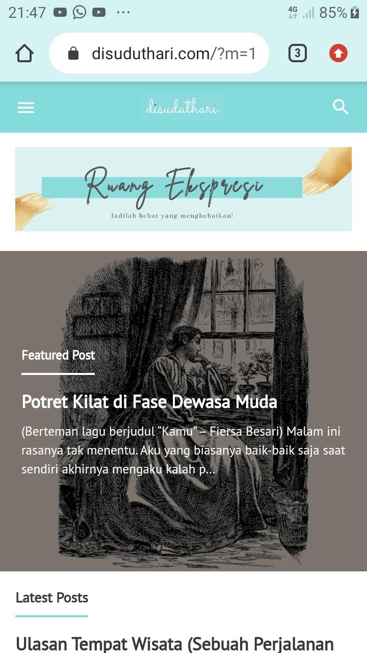 Before 1 Permak Tampilan Blog Edition