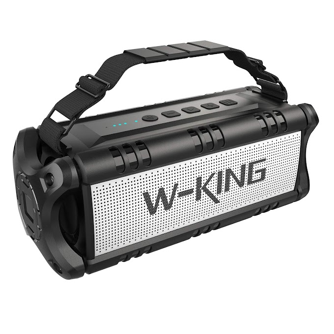 AMAZON - 30% OFF W-KING Wireless Bluetooth Speakers & 8000mAh Battery Power Bank