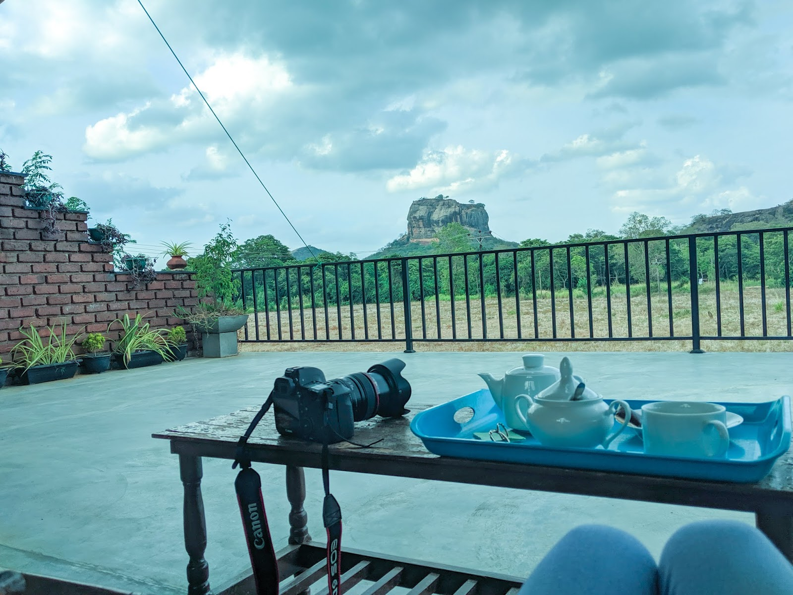 Evening view Sigiriya Pictures Sri Lanka