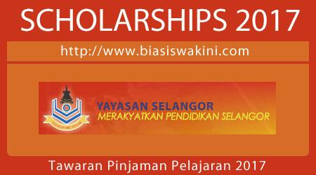 Tawaran Pinjaman Pelajaran 2017