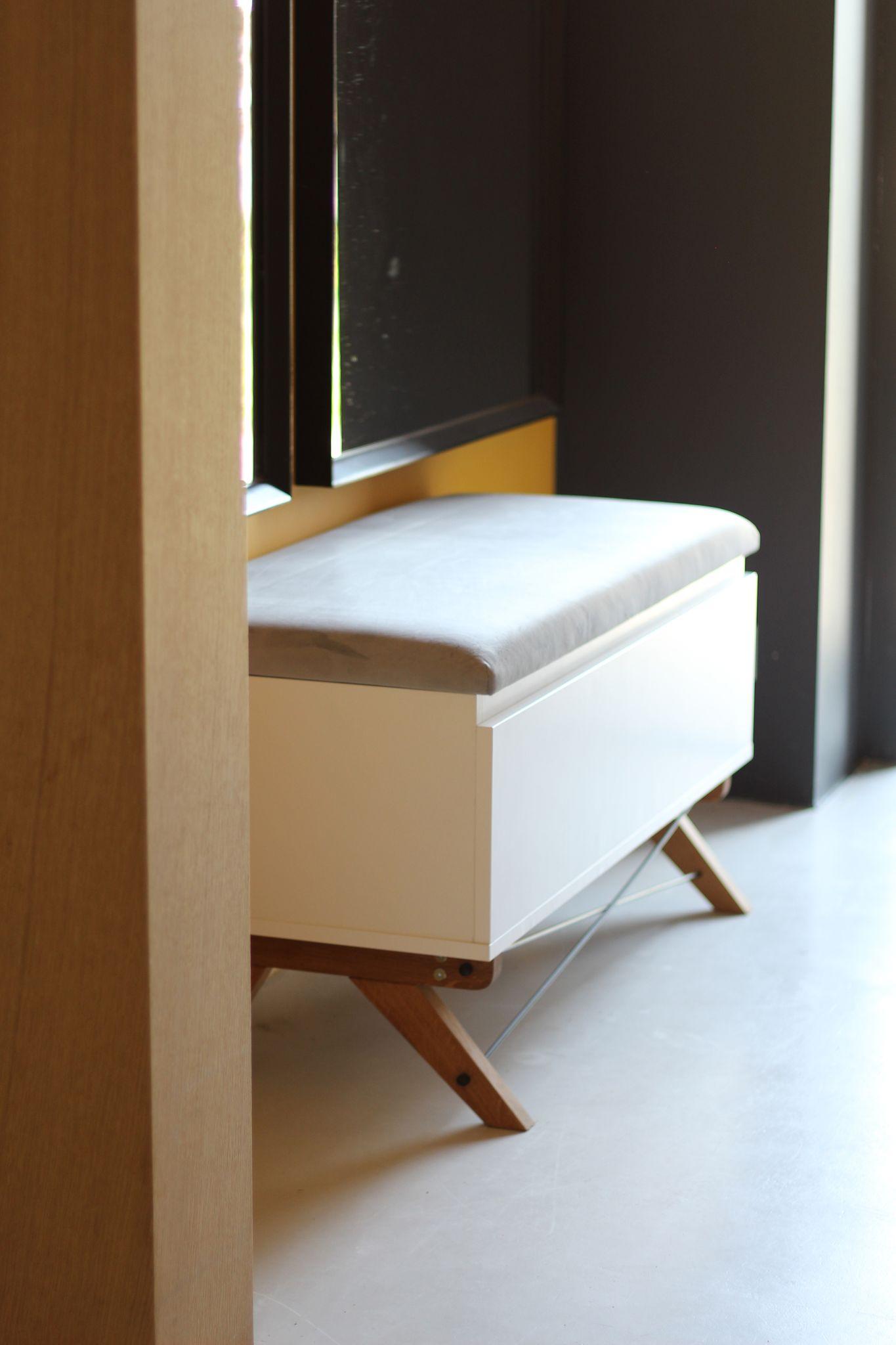 skrzynia tapicerowana pufa