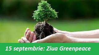 15 septembrie: Ziua Greenpeace