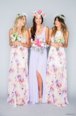 Vestidos de damas de honor juveniles