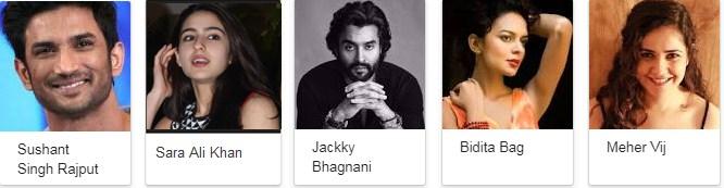 Kedarnath 2018 Movie Star